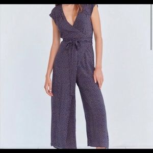 Urban Outfitters Kimchi Blue Floral Wrap Jumpsuit